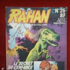 Cómics: COMIC RAHAN Nº 26 (FRANCES) AÑO 1977.. Lote 72299803