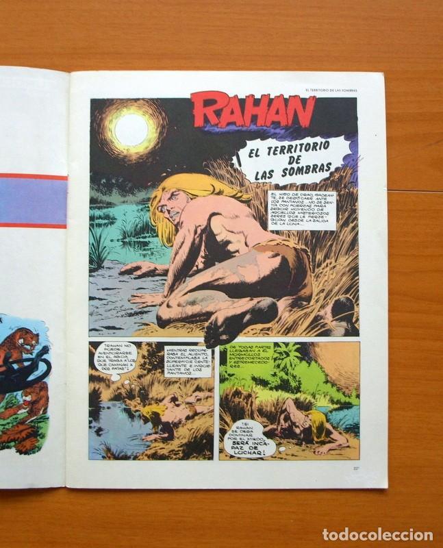 Cómics: RAHAN, El territorio de las sombras nº 24 último de la colección - Editorial Buru Lan, Burulan 1974 - Foto 2 - 73070035