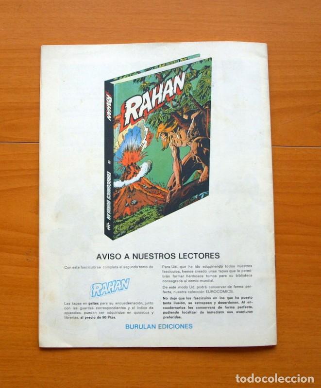 Cómics: RAHAN, El territorio de las sombras nº 24 último de la colección - Editorial Buru Lan, Burulan 1974 - Foto 6 - 73070035