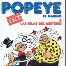 Cómics: POPEYE EL MARINO, Nº 4. LAS ISLAS DEL MISTERIO.. Lote 73299215