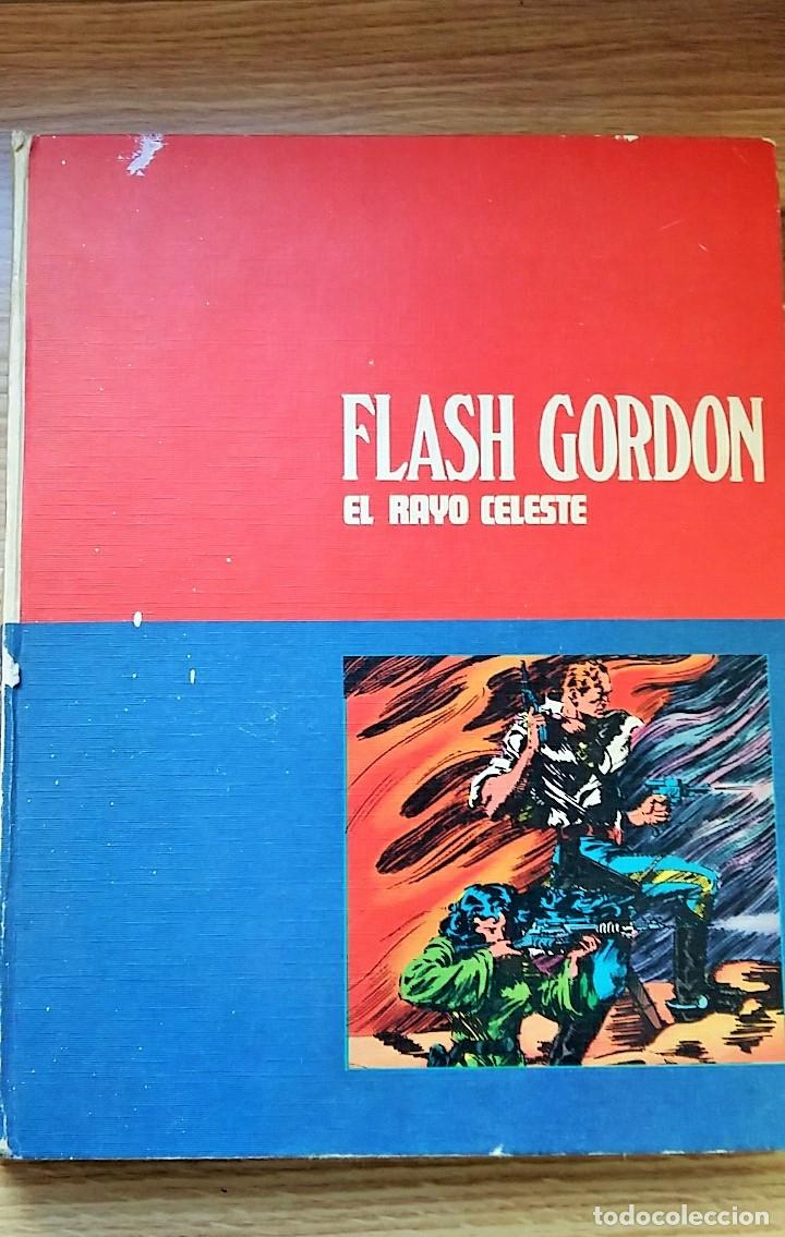 TEBEO COMIC, FLASH GORDON EL RAYO CELESTE. TOMO 1. BURU LAN 1972 (Tebeos y Comics - Buru-Lan - Flash Gordon)