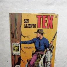 Cómics: TEX SIN ALIENTO Nº 20. Lote 74084187