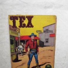 Cómics: TEX CITA MORTAL Nº 11. Lote 74084483