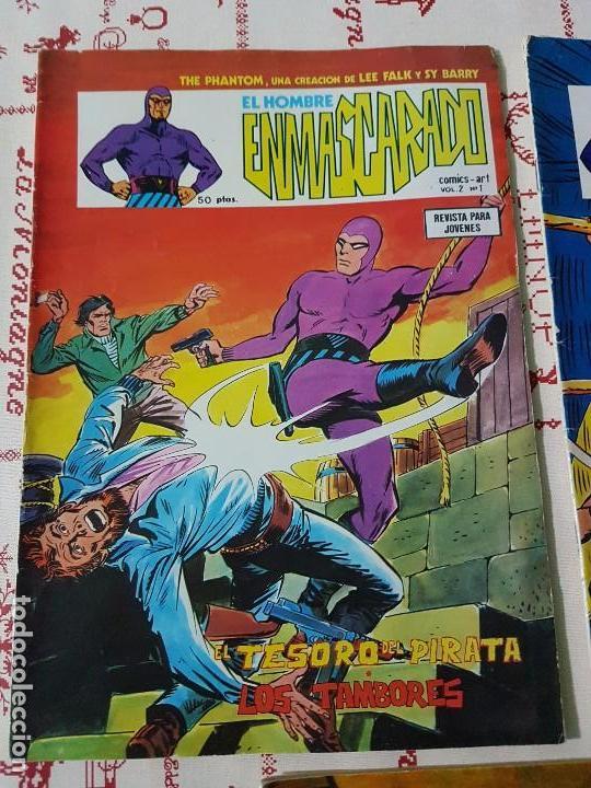 Cómics: Original El hombre enmascarado vol 2 numero 1, 2 y 4 año 1979 - Foto 2 - 74742015