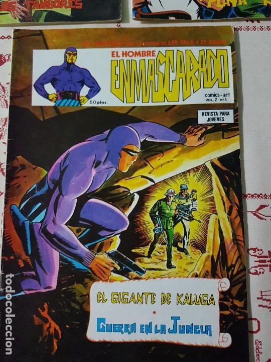 Cómics: Original El hombre enmascarado vol 2 numero 1, 2 y 4 año 1979 - Foto 3 - 74742015