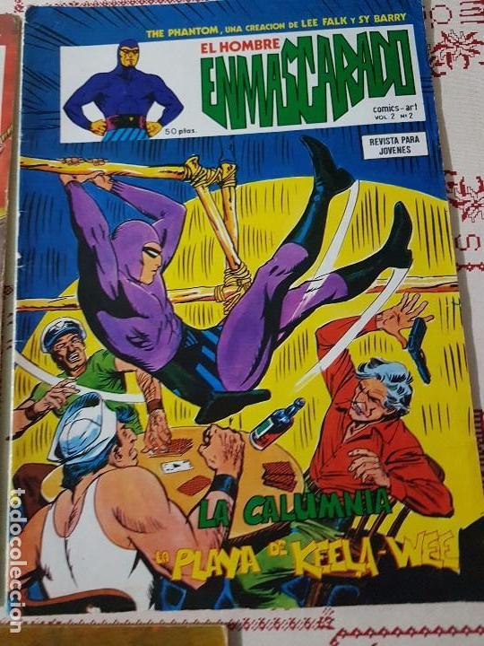 Cómics: Original El hombre enmascarado vol 2 numero 1, 2 y 4 año 1979 - Foto 4 - 74742015