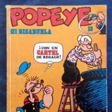 Cómics: POPEYE MI BISABUELA EDICIÓN AÑO 1971. Lote 74868815