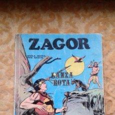 Cómics: ZAGOR Nº 6 LANZA ROTA BURU LAN SERIE AZUL 1972. Lote 75956923