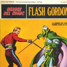 Cómics: FLASH GORDON 1 AL 12 - HEROES DEL COMIC - BURU LAN. Lote 205701687