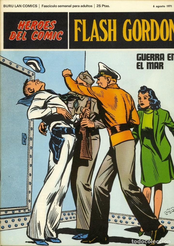 FLASH GORDON 13 - HEROES DEL COMIC - BURU LAN (Tebeos y Comics - Buru-Lan - Flash Gordon)