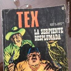 Cómics: TEX LA SERPIENTE DESPLUMADA. Lote 76744966