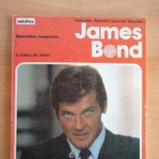 Comics : JAMES BOND. A TRAVES DEL MURO (COLECCIÓN AGENTES SECRETOS BURULAN) TITULO NUM. 1 - 1974. Lote 77141077