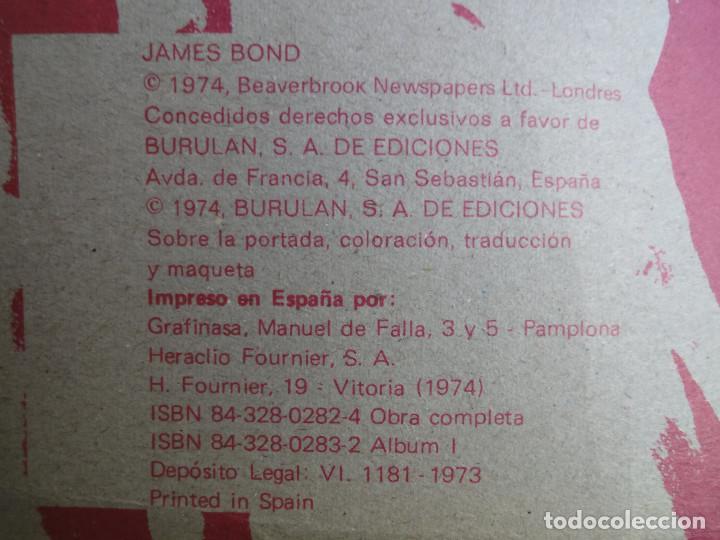 Cómics: James Bond. A traves del muro (Colección Agentes Secretos Burulan) Titulo Num. 1 - 1974 - Foto 3 - 77141077