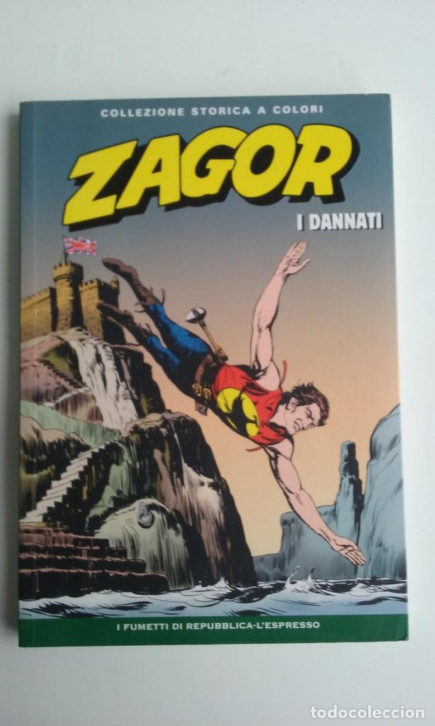ZAGOR Nº 37 EDICION ORIGINAL ITALIANA A COLOR. (Tebeos y Comics - Buru-Lan - Zagor)
