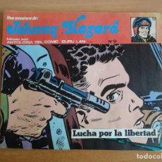 Cómics: JOHNNY HAZARD NUM. 9 -ANTOLOGIA DEL COMIC NUM. 18- BURULAN. 1973. Lote 77342717
