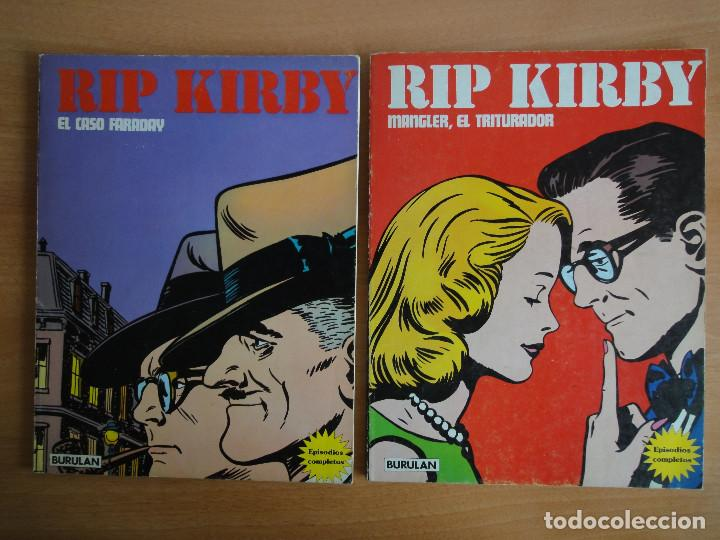 RIP KIRBY. TOMOS 1 Y 2. BURULAN 1974 (Tebeos y Comics - Buru-Lan - Rip Kirby)
