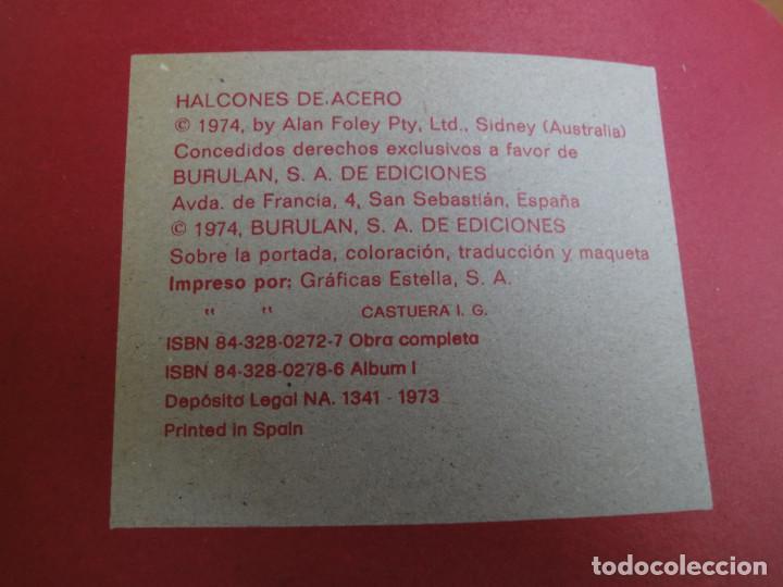 Cómics: Halcones de Acero - El Secuestro - BuruLan 1974 - Foto 3 - 177673435