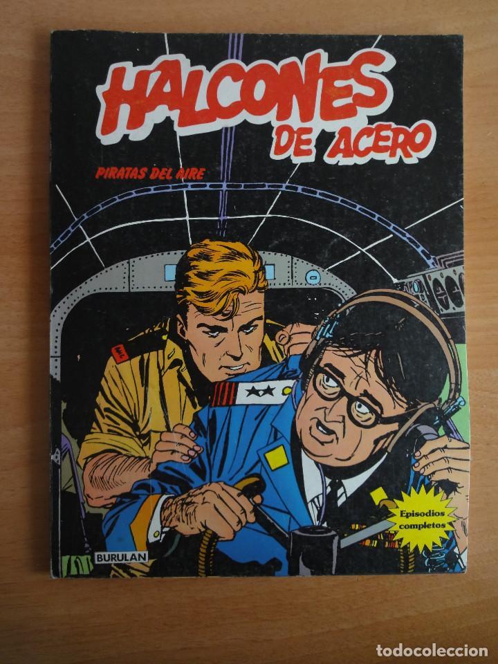 HALCONES DE ACERO - PIRATAS DEL AIRE - BURULAN 1974 (Tebeos y Comics - Buru-Lan - Halcones de Acero)