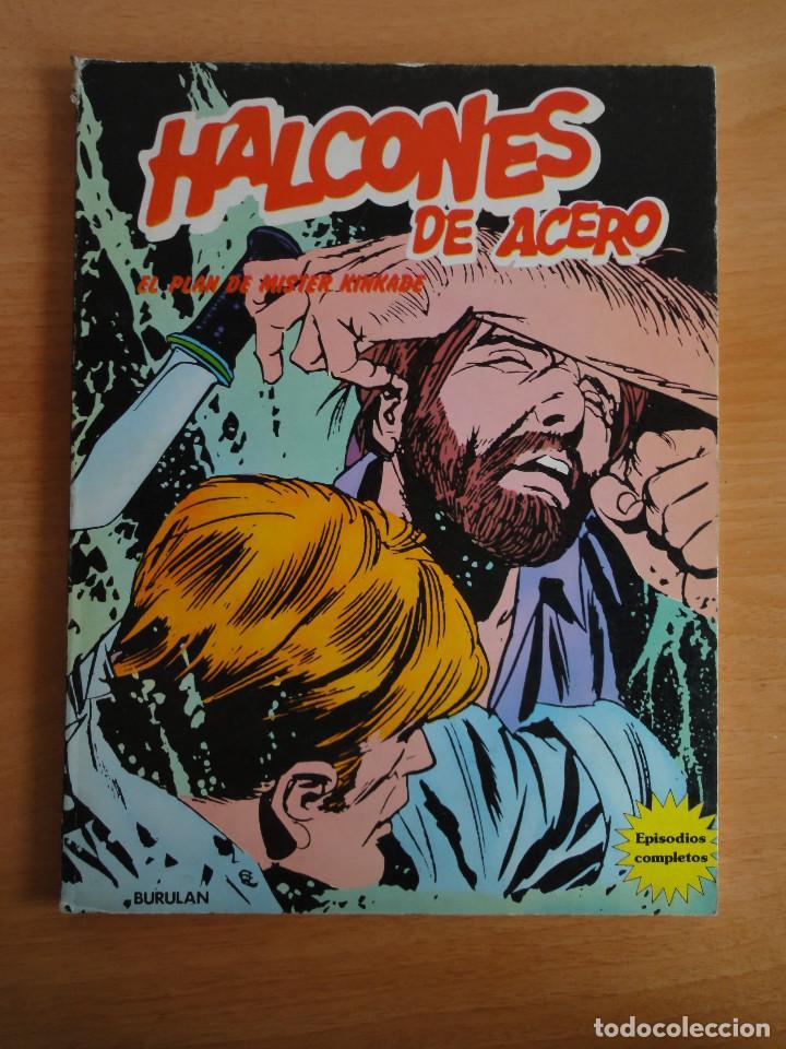 HALCONES DE ACERO -EL PLAN DE MISTER KNKADE- BURULAN 1974 (Tebeos y Comics - Buru-Lan - Halcones de Acero)