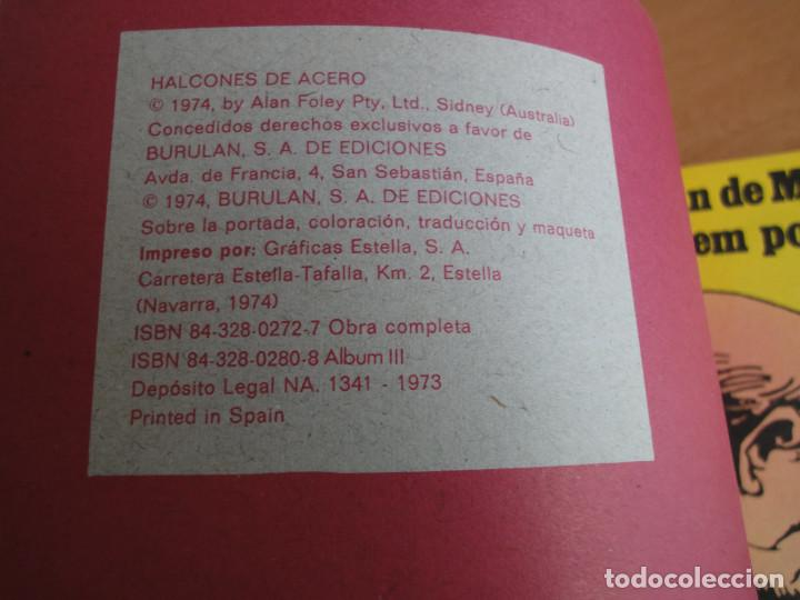 Cómics: Halcones de Acero -El plan de Mister Knkade- BuruLan 1974 - Foto 3 - 77348021