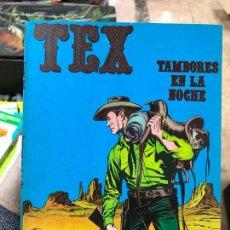 Cómics: TEX Nº 4 - BURU LAN - TAMBORES EN LA NOCHE. Lote 77450977