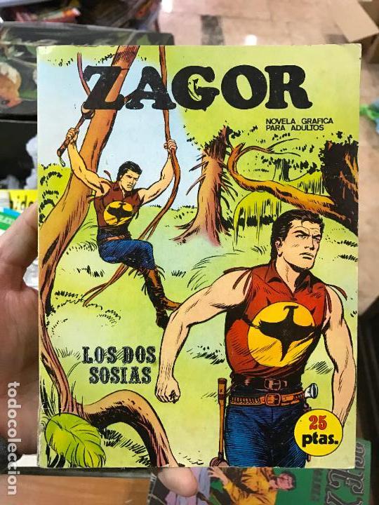 ZAGOR BURU LAN NUMERO 5 (Tebeos y Comics - Buru-Lan - Zagor)