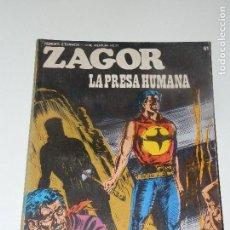 Cómics: ZAGOR BURULAN (BURU-LAN) Nº 61. Lote 77549361