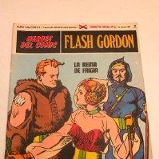 Cómics: HEROES DEL COMIC FLASH GORDON Nº 2. LA REINA DE FRIGIA. BURU LAN 1971. Lote 78121329
