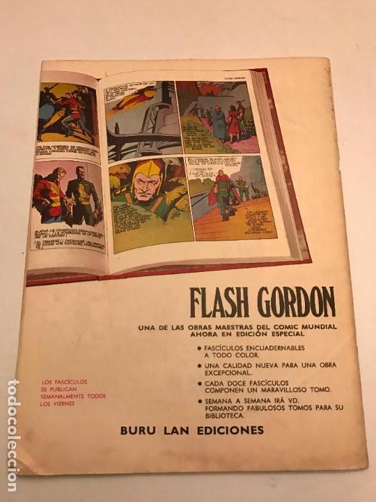 Cómics: HEROES DEL COMIC FLASH GORDON Nº 2. LA REINA DE FRIGIA. BURU LAN 1971 - Foto 2 - 78121329