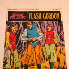 Comics: HEROES DEL COMIC FLASH GORDON Nº 5. EL MONSTRUO DE LOS HIELOS. BURU LAN 1971. Lote 273144553