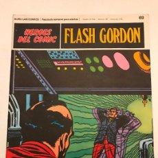 Comics : HEROES DEL COMIC FLASH GORDON Nº 69. MUSICA DIABOLICA. BURU LAN 1971. Lote 78123265
