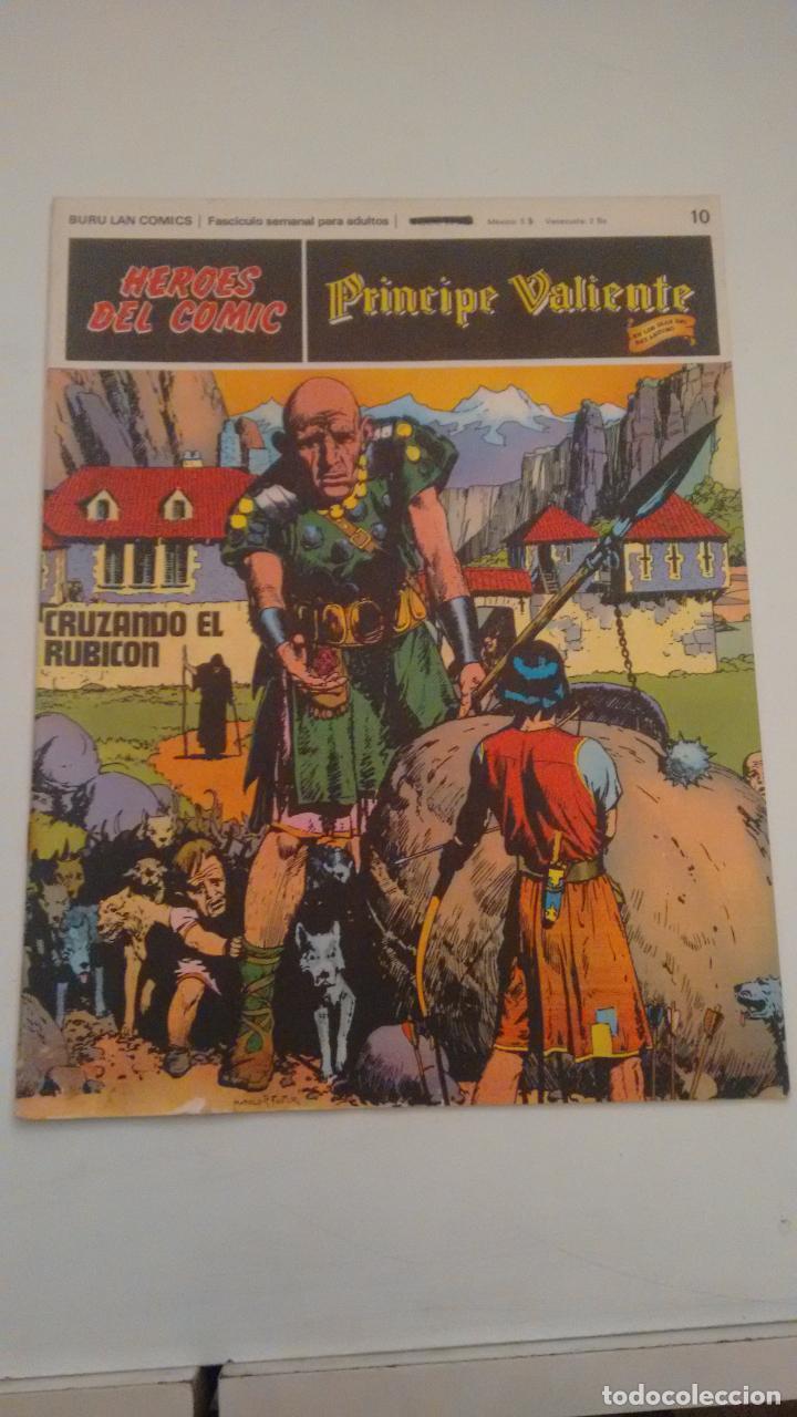 HEROES DEL COMIC PRINCIPE VALIENTE Nº 10. CRUZANDO EL RUBICON. BURU LAN 1972 (Tebeos y Comics - Buru-Lan - Flash Gordon)