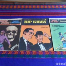 Cómics: PRÍNCIPE VALIENTE, RIP KIRBY Y EL HOMBRE ENMASCARADO NºS 1. BURU LAN 1971. 25 PTS.. Lote 78216493