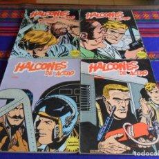 Cómics: HALCONES DE ACERO RETAPADO 1 2 3 4 EL SECUESTRO, VETOL, PLAN DE MISTER KYNKADE Y KADAITCHA. BURU LAN. Lote 78217361