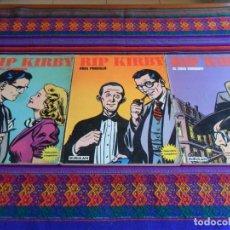 Cómics: RIP KIRBY RETAPADO 1 3 4 6 EL CASO FARADAY MISTERIOSA CASA MUÑECAS MISS PRISCILLA LOS RUBÍES BANDAR. Lote 78218481
