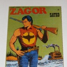 Cómics: ZAGOR BURULAN (BURU-LAN) Nº 55 EXCELENTE ESTADO. Lote 78455905