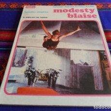 Cómics: COLECCIÓN AGENTES SECRETOS BURU LAN NºS 1 Y 2 . MODESTY BLAISE. 1974. 150 PTS. RETAPADO.. Lote 19304774