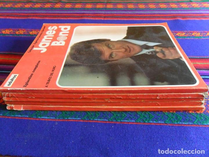 Cómics: JAMES BOND RETAPADO 1 2 3 4 5 A TRAVÉS DEL MURO SOMBRAS DE ORO EL RÍO LA MUERTE OCTÓPODO ASESINO.... - Foto 2 - 78568509