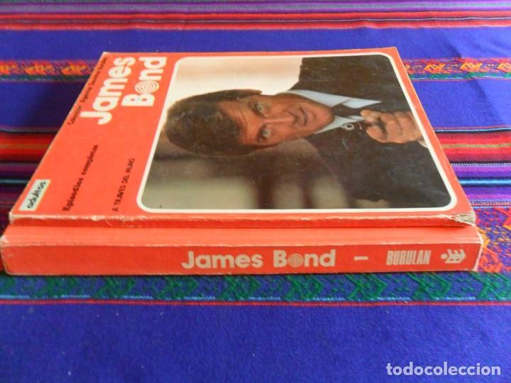 Cómics: JAMES BOND VOLUMEN TOMO 1. BURU LAN 1973. REGALO RETAPADO Nº 1 A TRAVÉS DEL MURO. - Foto 2 - 78568993