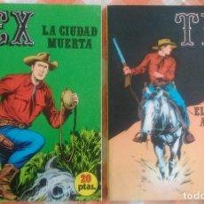 Cómics: TEX Nº 5 Y 13 (BURU LAN 1970/71). Lote 75173439