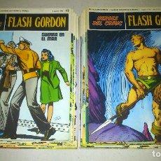 Cómics: FLASH GORDON - HEROES DEL COMIC - LOTE 23 EJEMPLARES EN FABULOSO ESTADO - 1ª EDICIÓN. Lote 79167025