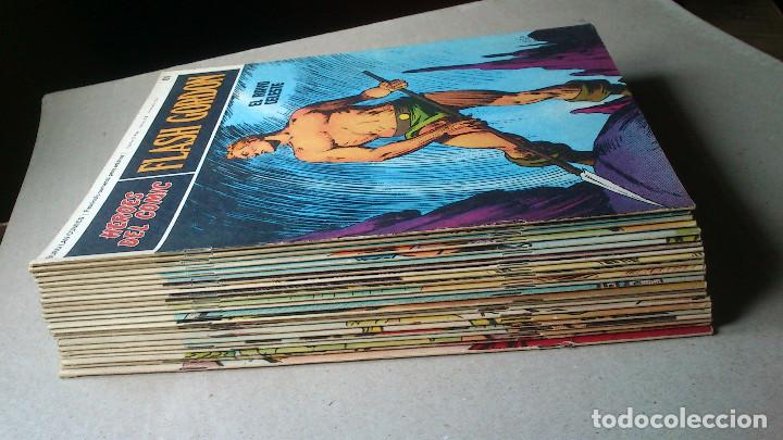 Cómics: FLASH GORDON - HEROES DEL COMIC - LOTE 23 EJEMPLARES EN FABULOSO ESTADO - 1ª EDICIÓN - Foto 2 - 79167025