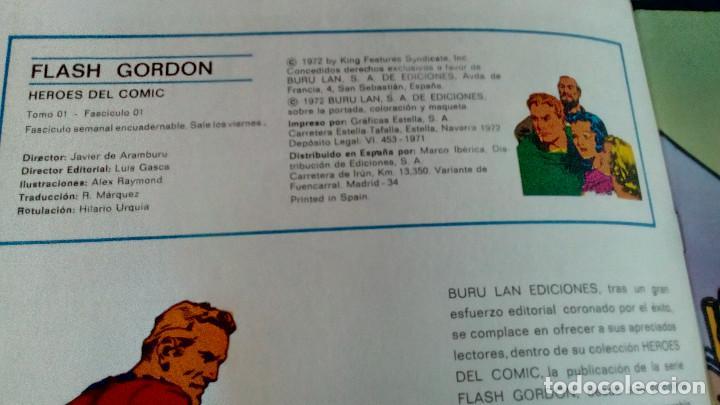 Cómics: FLASH GORDON - HEROES DEL COMIC - LOTE 23 EJEMPLARES EN FABULOSO ESTADO - 1ª EDICIÓN - Foto 3 - 79167025