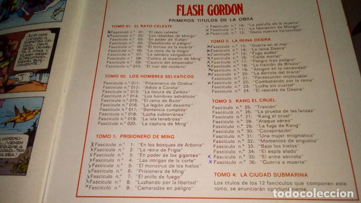 Cómics: FLASH GORDON - HEROES DEL COMIC - LOTE 23 EJEMPLARES EN FABULOSO ESTADO - 1ª EDICIÓN - Foto 5 - 79167025