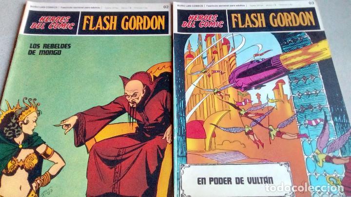 Cómics: FLASH GORDON - HEROES DEL COMIC - LOTE 23 EJEMPLARES EN FABULOSO ESTADO - 1ª EDICIÓN - Foto 6 - 79167025