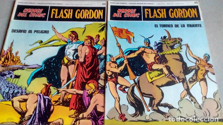 Cómics: FLASH GORDON - HEROES DEL COMIC - LOTE 23 EJEMPLARES EN FABULOSO ESTADO - 1ª EDICIÓN - Foto 9 - 79167025