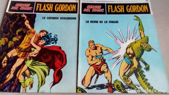 Cómics: FLASH GORDON - HEROES DEL COMIC - LOTE 23 EJEMPLARES EN FABULOSO ESTADO - 1ª EDICIÓN - Foto 12 - 79167025