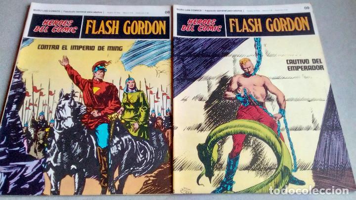 Cómics: FLASH GORDON - HEROES DEL COMIC - LOTE 23 EJEMPLARES EN FABULOSO ESTADO - 1ª EDICIÓN - Foto 15 - 79167025