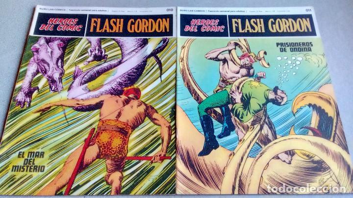 Cómics: FLASH GORDON - HEROES DEL COMIC - LOTE 23 EJEMPLARES EN FABULOSO ESTADO - 1ª EDICIÓN - Foto 18 - 79167025