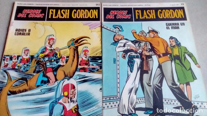 Cómics: FLASH GORDON - HEROES DEL COMIC - LOTE 23 EJEMPLARES EN FABULOSO ESTADO - 1ª EDICIÓN - Foto 21 - 79167025